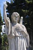 Angel Pointing To Heaven Photo stock