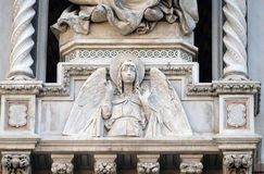 Angel, Portal of Florence Cathedral Stock Photos