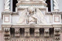 Angel, Portal of Florence Cathedral Royalty Free Stock Photo