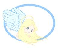 Angel praying Royalty Free Stock Photo