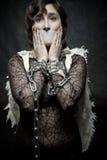 Angel prisoner Stock Image