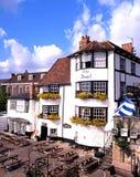 Angel Pub, Henley-på-Themsen arkivbild