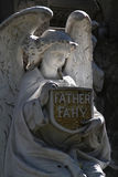 Angel in Recoleta Cemetery. Royalty Free Stock Photography