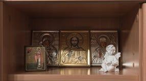 Angel religion. Christianity orthodox angels Stock Image