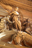 Angel Religious Statues Rome Italy Stock Images