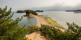 Angel road in shodoshima island Stock Photos