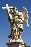 Angel in Rome Stock Image