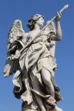 Angel in Rome royalty free stock photo