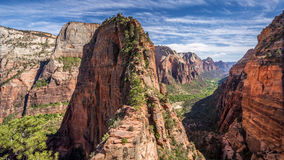 Angel's Landing spectacular hike Stock Photography