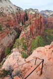Angel's Landing Trail Royalty Free Stock Photos