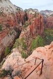 Angel's Landing Trail royalty free stock photos
