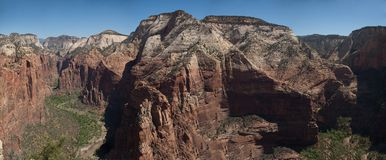 Angel's Landing, Zion Royalty Free Stock Photo