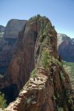 Angel's Landing Zion Canyon Royalty Free Stock Image