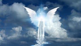 Angel`s star royalty free illustration