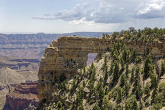 Angel`s Window. At the Grand Canyon stock photography