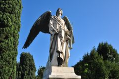 Angel of San. Michele Cemetery, Venice Stock Images