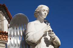 Angel in the Sanctuary of Sameiro, Braga Royalty Free Stock Images