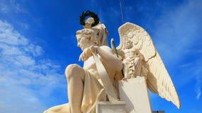 Angel Sculpture Fotografia Stock Libera da Diritti