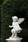 Angel Sculpture Royaltyfri Fotografi