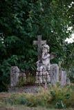 Angel Sculpture Stockfoto