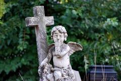 Angel Sculpture Stockbild