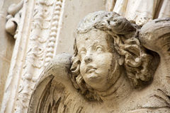 Angel sculpture Stock Photography
