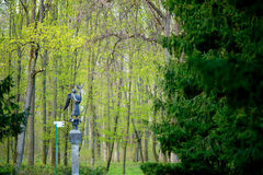 Angel Sculpture in the park Royalty Free Stock Photography