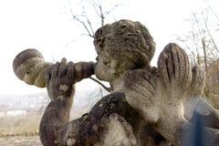 Angel sculpture Royalty Free Stock Photos
