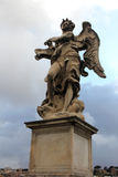 Angel sculpture in Rome, Italy. Stock Photography