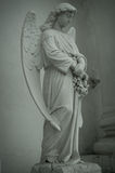 Angel Sculpture. Vsekhsvyatskiy Cathedral (Tula). Built in 1776-1859 years Royalty Free Stock Image