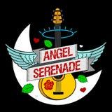 Angel Serenade squelettique Photo stock