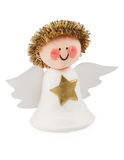 Angel of a set of scrapbooking Royalty Free Stock Photography