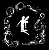 Angel silhouette Royalty Free Stock Photo