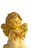 Angel sings. With a songbook Stock Images