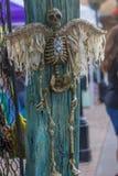 Angel Skeleton Imagenes de archivo