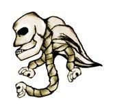 Angel Skull Images libres de droits