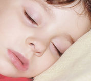 Angel sleeping. A little angel sleeping Royalty Free Stock Photography