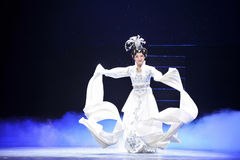 Angel sleeves-The historical style song and dance drama magic magic - Gan Po Stock Image