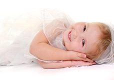 Angel smile Stock Images