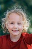 Angel smile Stock Image