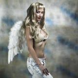 Angel smile Stock Photo