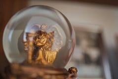 Angel Snow Globe Fotografia Stock