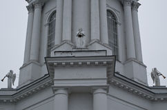 And the angel sounded. Vsekhsvyatskiy Cathedral (Tula). Built in 1776-1859 years Royalty Free Stock Photos