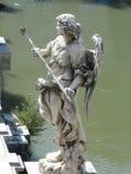 Angel With The Sponge, Castel SantAngelo rom Lizenzfreies Stockfoto