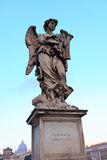 Angel,St. Angel Castle, Rome royalty free stock images