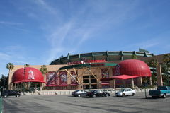 Angel Stadium Royalty Free Stock Image