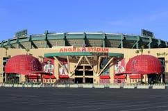 Angel Stadium of Anaheim Stock Photography