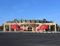Angel Stadium of Anaheim Stock Image