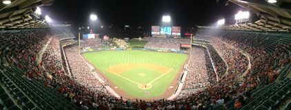 Angel Stadium of Anaheim Royalty Free Stock Photos