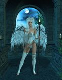 Angel Standing Royalty Free Stock Image